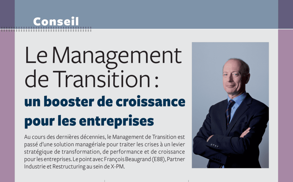 management de transition booster de croissance